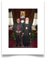 with His Most Divine All-Holiness the Archbishop of Constantinople New Rome and Ecumenical Patriarch